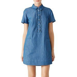 ERIN by Erin Fetherston 0 Chambray Pembrooke Dress